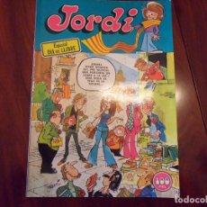 Cómics: JORDI - ESPECIAL DIA DEL LLIBRE - BRUGUERA 1978 - LOMO DE TACO. Lote 195510533