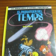 Cómics: EL PASSATGER DEL TEMPS. LES AVENTURES D'ESPIRU I FANTASTIC, Nº 22. EDICIONES JUNIOR 1990. Lote 195511155