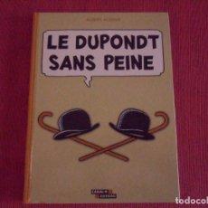 Cómics: LE DUPONDT SANS PEINE - VARIOS AUTORES - CANAL + EDITIONS 1997 TAPAS DURAS FRANCES. Lote 195511290