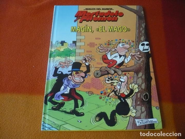 MORTADELO Y FILEMON MAGIN EL MAGO ¡MUY BUEN ESTADO! TAPA DURA CIRCULO DE LECTORES MAGOS DEL HUMOR (Tebeos y Comics Pendientes de Clasificar)