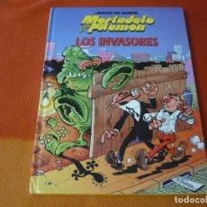 Cómics: MORTADELO Y FILEMON LOS INVASORES ¡MUY BUEN ESTADO! TAPA DURA CIRCULO DE LECTORES MAGOS DEL HUMOR. Lote 195639530