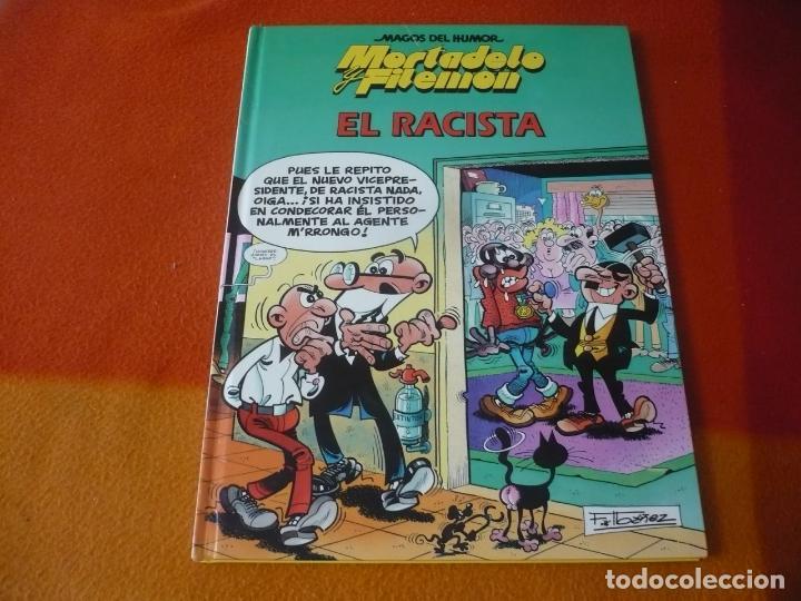 MORTADELO Y FILEMON EL RACISTA ¡MUY BUEN ESTADO! TAPA DURA CIRCULO DE LECTORES MAGOS DEL HUMOR (Tebeos y Comics Pendientes de Clasificar)