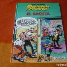 Cómics: MORTADELO Y FILEMON EL RACISTA ¡MUY BUEN ESTADO! TAPA DURA CIRCULO DE LECTORES MAGOS DEL HUMOR. Lote 195639600