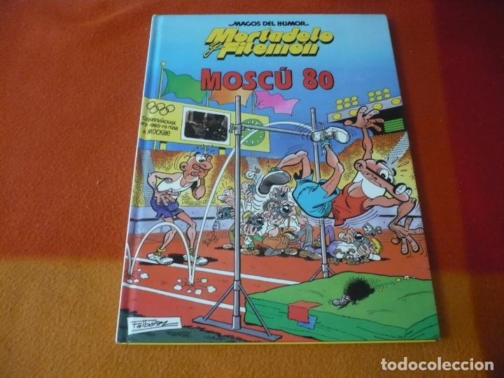 MORTADELO Y FILEMON MOSCU 80 ¡MUY BUEN ESTADO! TAPA DURA CIRCULO DE LECTORES MAGOS DEL HUMOR (Tebeos y Comics Pendientes de Clasificar)