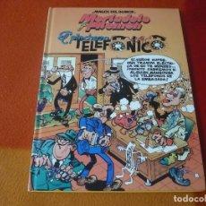 Cómics: MORTADELO Y FILEMON EL PINCHAZO TELEFONICO ¡MUY BUEN ESTADO! TAPA DURA CIRCULO DE LECTORES. Lote 195639653