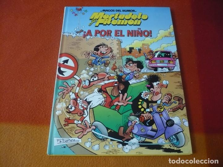 MORTADELO Y FILEMON ¡A POR EL NIÑO! ¡MUY BUEN ESTADO! TAPA DURA CIRCULO DE LECTORES MAGOS DEL HUMOR (Tebeos y Comics Pendientes de Clasificar)