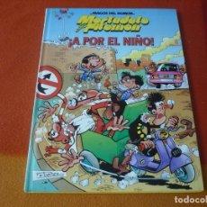 Cómics: MORTADELO Y FILEMON ¡A POR EL NIÑO! ¡MUY BUEN ESTADO! TAPA DURA CIRCULO DE LECTORES MAGOS DEL HUMOR. Lote 195639742