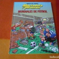 Cómics: MORTADELO Y FILEMON MUNDIALES DE FUTBOL ¡MUY BUEN ESTADO! TAPA DURA CIRCULO DE LECTORES. Lote 195639771