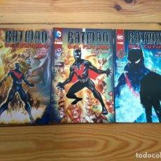 Comics: BATMAN DEL FUTURO COMPLETA: UN NUEVO MUNDO, LA CIUDAD DEL AYER Y PROGRAMADO PARA LA MUERTE. Lote 191189750