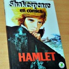 Cómics: SHAKESPEARE EN CÓMICS - Nº 5: HAMLET - DE GIANNI DE LUCA - EDICIONES PAULINAS - 2ª EDICIÓN, AÑO 1982. Lote 195951687