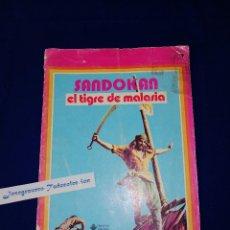 Cómics: SANDOKAN - EL TIGRE DE MALASIA. Lote 195974315