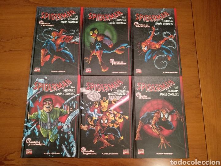 Cómics: Spiderman las historias jamás contadas, completo 6 tomos - Foto 2 - 196384501