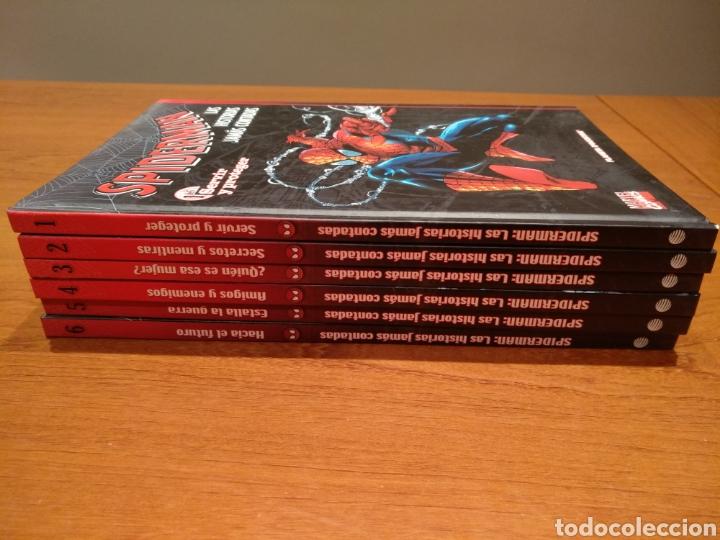 Cómics: Spiderman las historias jamás contadas, completo 6 tomos - Foto 3 - 196384501
