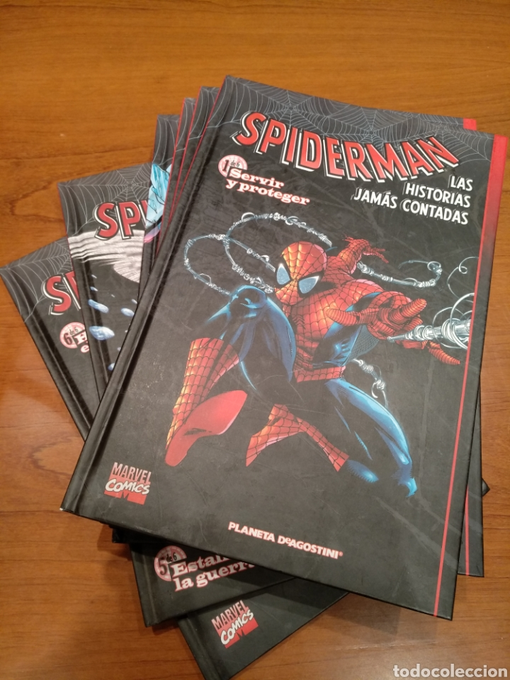 SPIDERMAN LAS HISTORIAS JAMÁS CONTADAS, COMPLETO 6 TOMOS (Tebeos y Comics - Comics Colecciones y Lotes Avanzados)