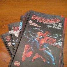 Cómics: SPIDERMAN LAS HISTORIAS JAMÁS CONTADAS, COMPLETO 6 TOMOS. Lote 196384501