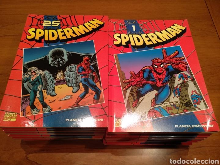 SPIDERMAN COLECCIÓN COMPLETA 50 NÚMEROS. PLANETA, MARVEL COMICS (Tebeos y Comics - Comics Colecciones y Lotes Avanzados)