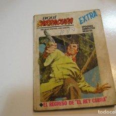 Cómics: TACO AQUI BARRACUDA - Nº 16 - EL REGRESO DE EL REY COBRA - EDICIONES VERTICE -. Lote 196402500