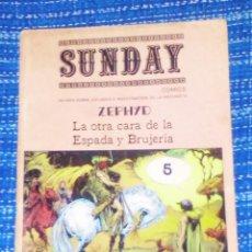 Cómics: VENDO COMIC (SUNDAY), LA OTRA CARA DE LA ESPADA Y LA BRUJA, (VER MAS FOTOS).. Lote 196548682