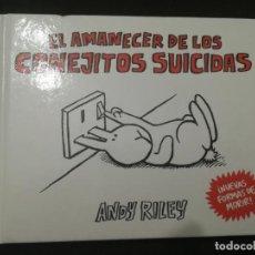 Cómics: EL AMANECER DE LOS CONEJITOS SUICIDAS. ANDY RILEY. ASTIBERRI. Lote 196557443