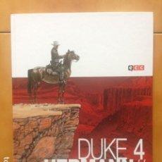 Cómics: DUKE TOMO 4 - HERMANN / YVES H / ECC EUROPEO. Lote 207123370