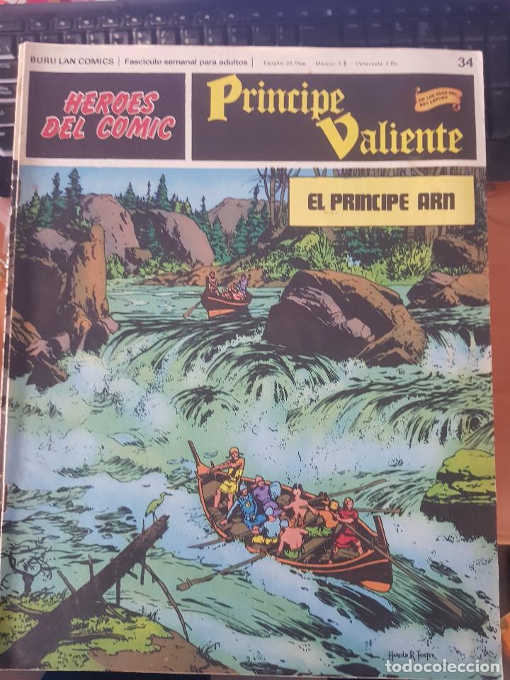 PRINCIPE VALIENTE EL PRINCIPE ARN (Tebeos y Comics - Buru-Lan - Principe Valiente)