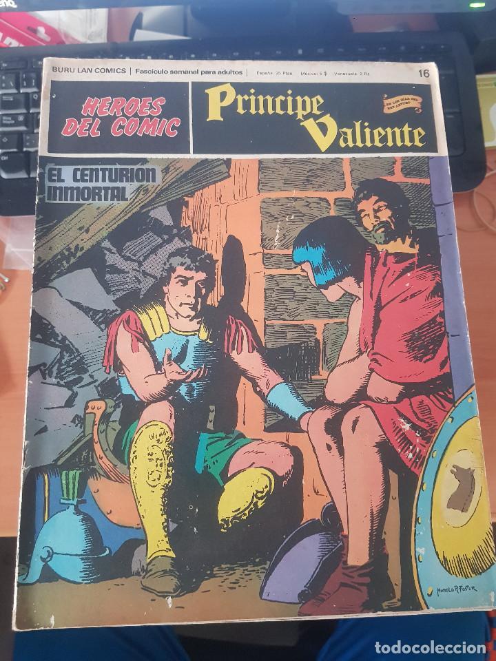 PRINCIPE VALIENTE EL CENTURION INMORTAL (Tebeos y Comics - Buru-Lan - Principe Valiente)