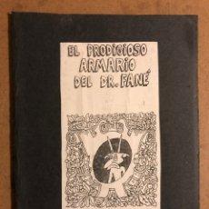 Cómics: EL PRODIGIOSO ARMARIO DEL DR. FANÉ, KU ENTU. LITUS 1983. HISTÓRICO FANZINE ORIGINAL.. Lote 196816988