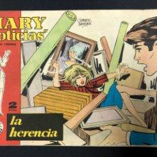 Cómics: MARY NOTICIAS Nº 106 LA HERENCIA - BUEN ESTADO. Lote 197075482