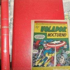 Cómics: ED. SURCO 1982 83 TOMO II CON VARIOS COMIC NUMEROS 1 DE CAPITAN AMERICA MICRONAUTAS KAZAR . Lote 197245366