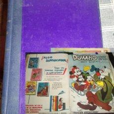 Cómics: DUMBO ERSA 1958 CINCO NUMEROS ENCUADERNADOS EN UN TOMO PASTA DURA . Lote 197246061