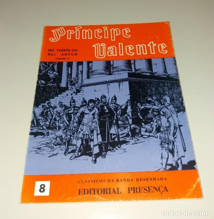 CÓMIC/TEBEO. PRÍNCIPE VALENTE (EL PRÍNCIPE VALIENTE) PORTUGUÉS (NO TEMPO DO REI ARTUR). ED. PRESENÇA (Tebeos y Comics - Buru-Lan - Principe Valiente)