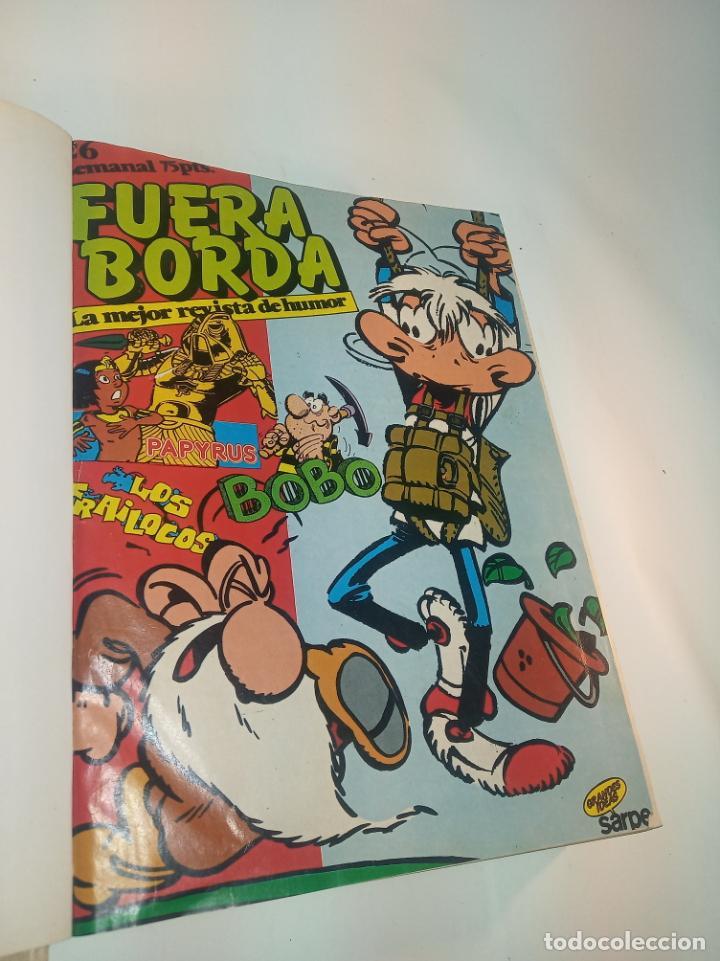 COLECCIÓN DE 28 NÚMEROS FUERA BORDA. DEL Nº 26 AL 49 + DEL Nº1 AL 4 DE TEBEOTECA FUERABORDA. (Tebeos y Comics - Comics Colecciones y Lotes Avanzados)