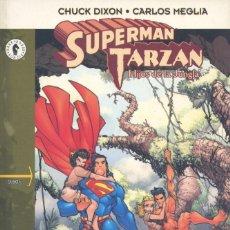 Cómics: SUPERMAN Y TARZÁN, HIJOS DE LA JUNGLA. EDITORIAL DOLMEN, 2003. Lote 197982118