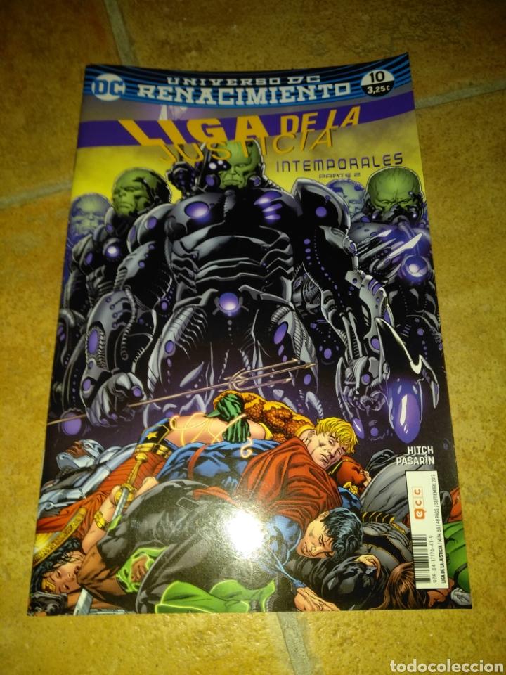 LIGA DE LA JUSTICIA 10 (Tebeos y Comics - Comics otras Editoriales Actuales)