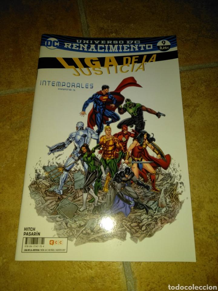 LIGA DE LA JUSTICIA 9 (Tebeos y Comics - Comics otras Editoriales Actuales)