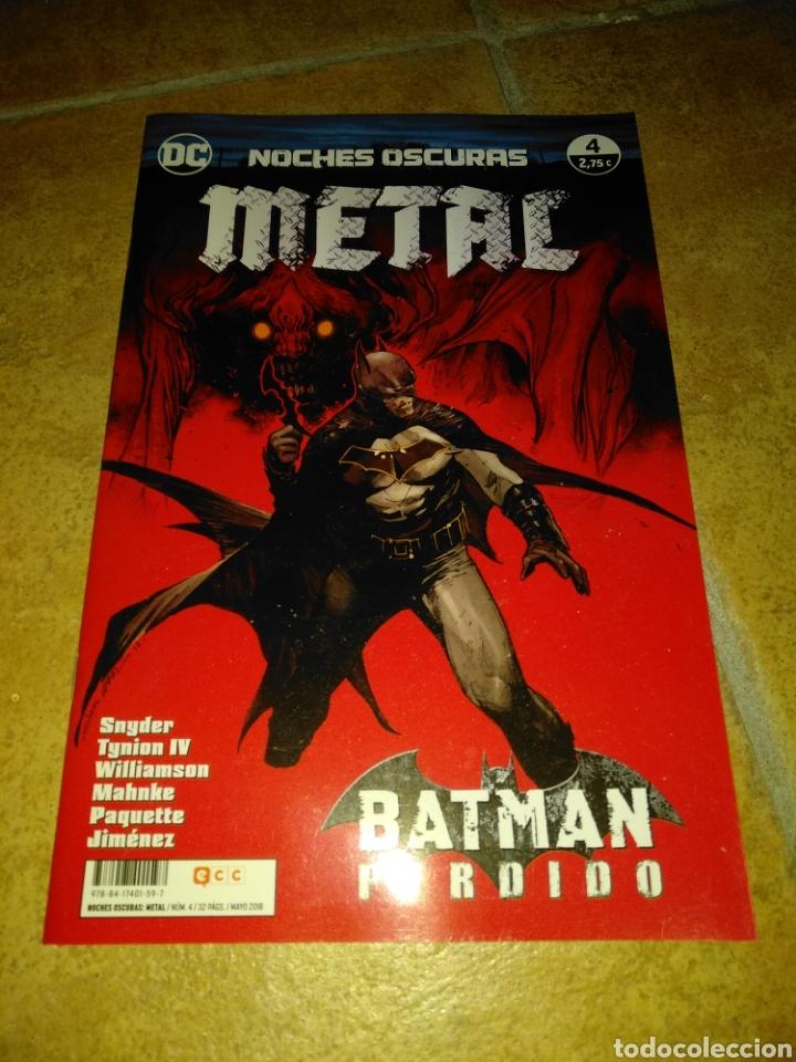 NOCHES OSCURAS METAL 4 (Tebeos y Comics - Comics otras Editoriales Actuales)