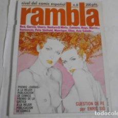 Comics: RAMBLA Nº 8--. Lote 198113131