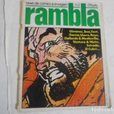 Comics: RAMBLA Nº 2--. Lote 198113311