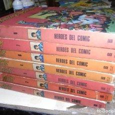 Cómics: PRINCIPE VALIENTE, HEROES DEL COMIC,BURULAN, TOMOS 1.2.3.4.5.6.7 Y 8. Lote 198232915