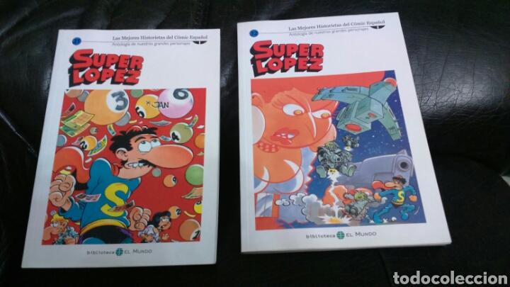 Cómics: SUPER LÓPEZ Biblioteca EL MUNDO LOTE DE 8 comic - Foto 2 - 198257682