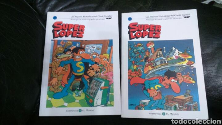 Cómics: SUPER LÓPEZ Biblioteca EL MUNDO LOTE DE 8 comic - Foto 3 - 198257682