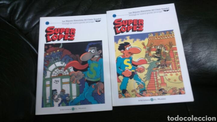 Cómics: SUPER LÓPEZ Biblioteca EL MUNDO LOTE DE 8 comic - Foto 4 - 198257682