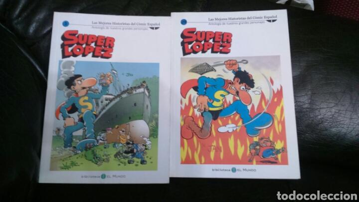 Cómics: SUPER LÓPEZ Biblioteca EL MUNDO LOTE DE 8 comic - Foto 5 - 198257682