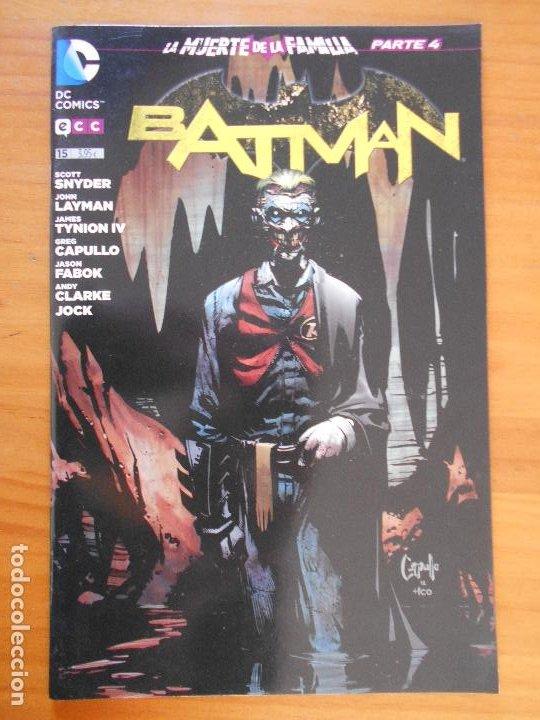 BATMAN Nº 15 - LA MUERTE DE LA FAMILIA PARTE 4 - DC - ECC (FS) (Tebeos y Comics - Comics otras Editoriales Actuales)