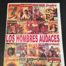 Cómics: (M11) CATALOGO LOS HOMBRES AUDACES POR JORGE TARANCÓN Y FERNANDO EGUIDAZU, AÑO 2003, ILUSTRADO. Lote 198309521