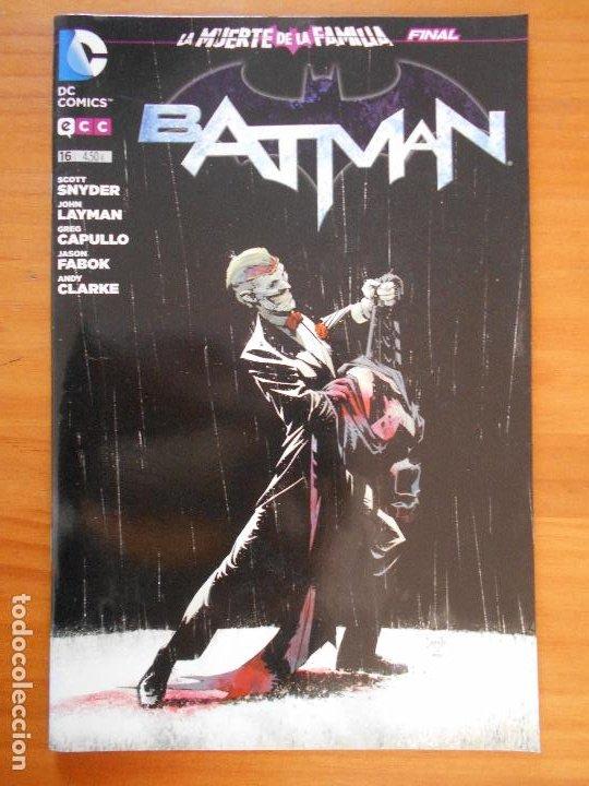 BATMAN Nº 16 - LA MUERTE DE LA FAMILIA FINAL - DC - ECC (FS) (Tebeos y Comics - Comics otras Editoriales Actuales)