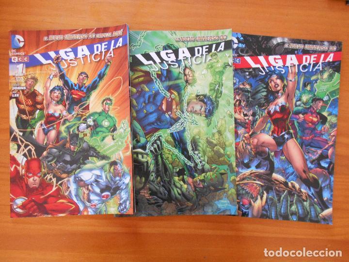 Cómics: LIGA DE LA JUSTICIA - Nº 1 A 9 - GEOFF JOHNS - NUEVO UNIVERSO DC - ECC (BE) - Foto 2 - 198310277