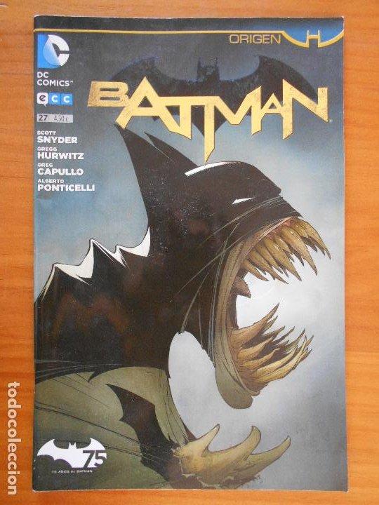BATMAN Nº 27 - ORIGEN - DC - ECC (FS) (Tebeos y Comics - Comics otras Editoriales Actuales)