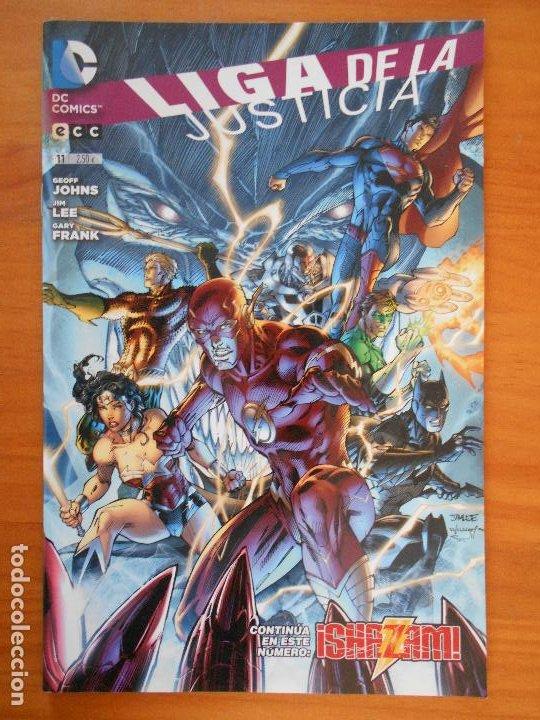 LIGA DE LA JUSTICIA - Nº 11 - GEOFF JOHNS - DC - ECC (BE) (Tebeos y Comics - Comics otras Editoriales Actuales)