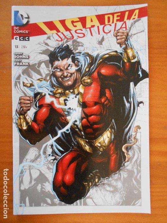 LIGA DE LA JUSTICIA - Nº 13 - GEOFF JOHNS - DC - ECC (BE) (Tebeos y Comics - Comics otras Editoriales Actuales)